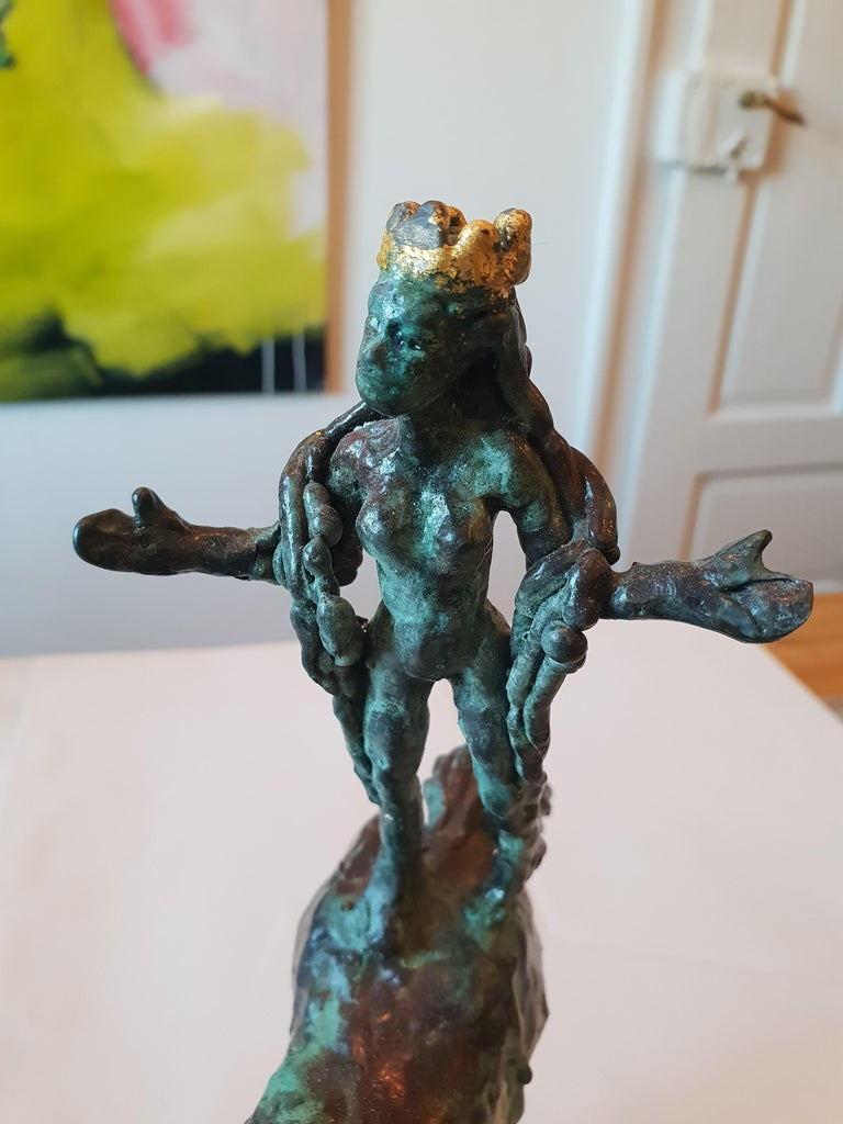 Bronze sculpture of a horse carrying lady Godiva  Limited Edition of 8
