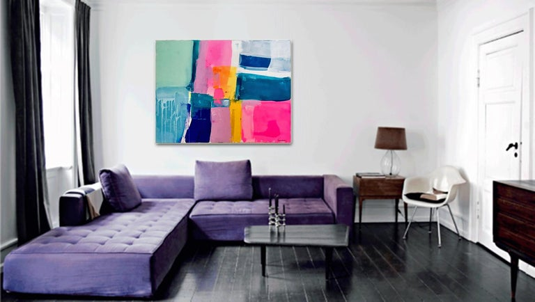 A love like no other by Kirsten Jackson, modern contemporary colorful abstract  For Sale 1