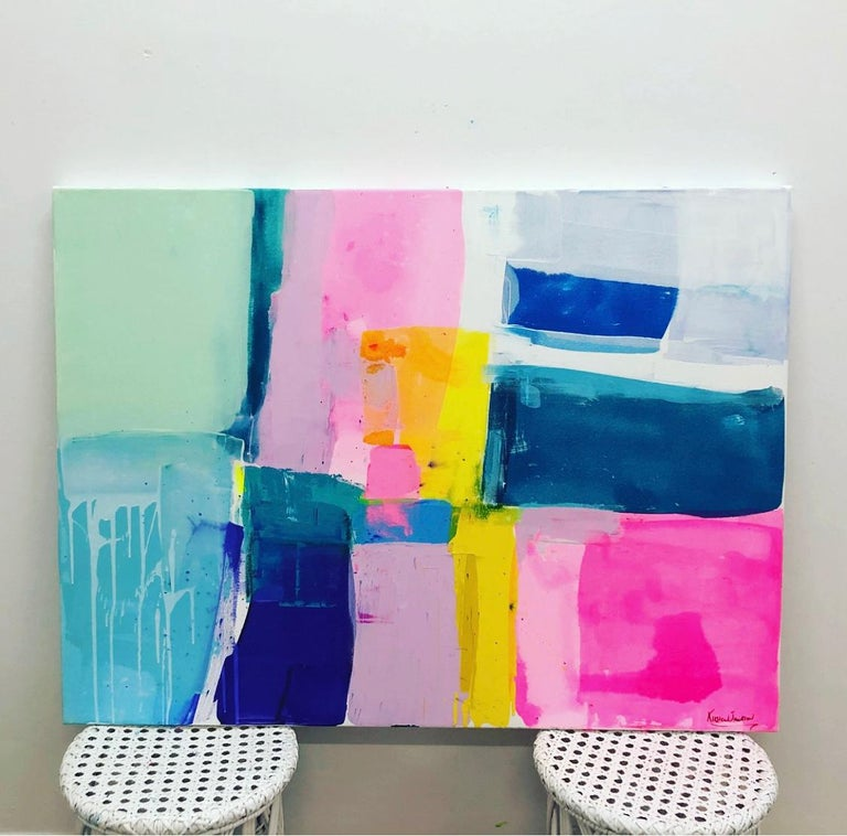 A love like no other by Kirsten Jackson, modern contemporary colorful abstract  For Sale 2