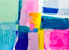 A love like no other by Kirsten Jackson, modern contemporary colorful abstract