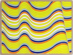 Wave Modul by Daniel Engelberg - Large Contemporary painting on MDF with resin