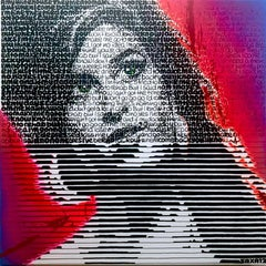 I'll be Back - Amy Winehouse by SAXA Contemporary painting through lyrics