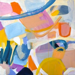 Chelsea Hart - Vibrancy - Contemporary abstract Colorful painting