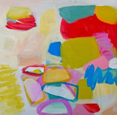 Chelsea Hart - Nature - Contemporary abstract Colorful painting