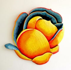 Bloom 5 by Isabel Ritter - Contemporary Wall Flower sculpture