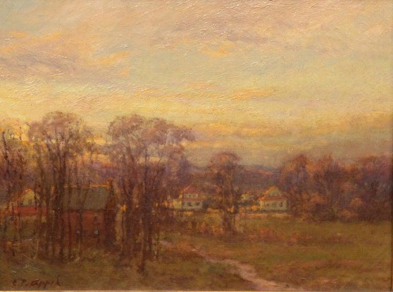 Tonalist Landscape - Painting by Charles P. Appel