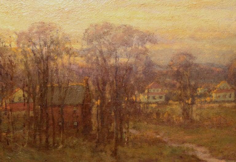 Tonalist Landscape - Brown Landscape Painting by Charles P. Appel