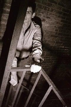 Film Noir Mark [Portrait of Mark Morrisroe]