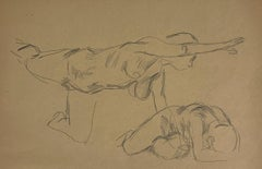 Untitled (Female Figure) [Arm and Leg Extended; and Despair Pose]