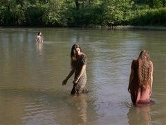 Jasmine, Hannah and Cecilia Swimming, Tennessee
