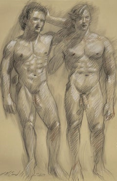Untitled (Two Standing Nudes)