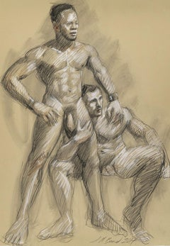 Untitled (Two Men, Sitting and Standing)