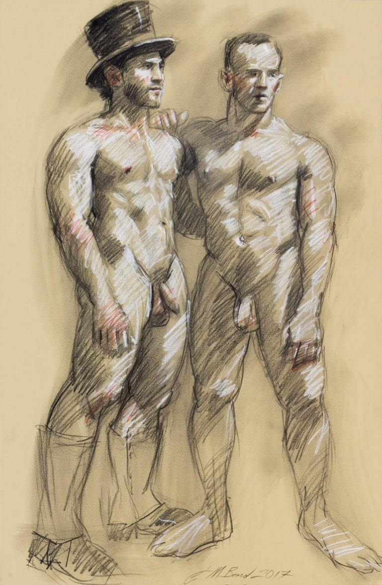 Mark Beard Figurative Art - Untitled
