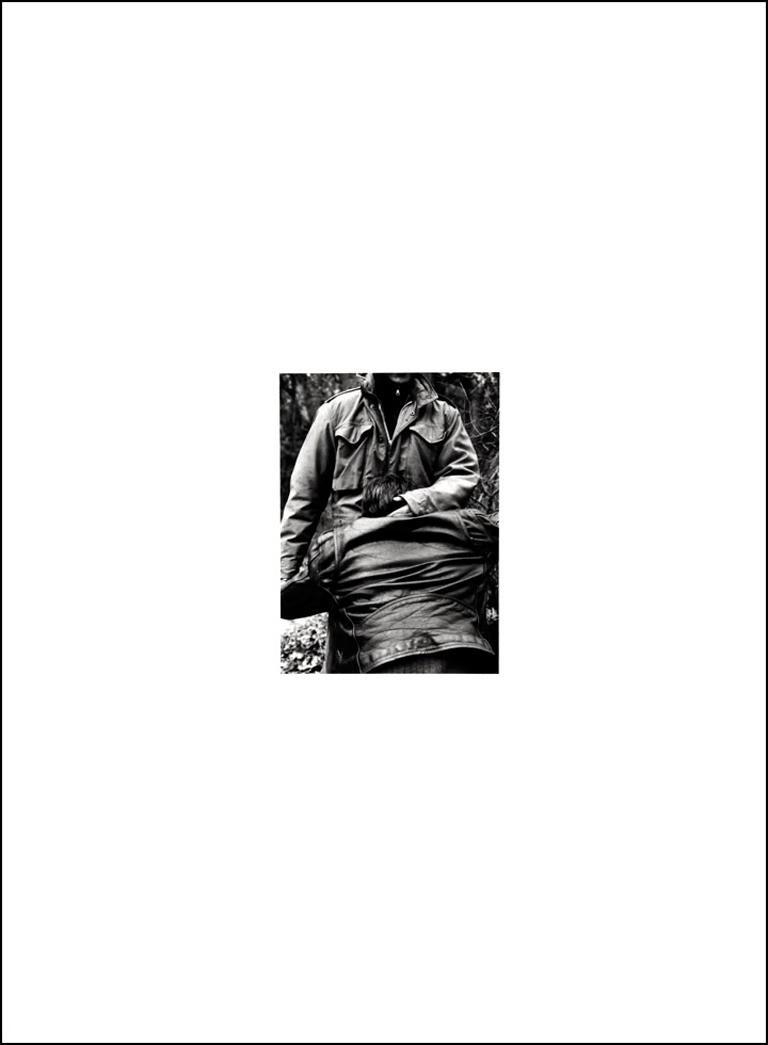 Joe Ovelman Figurative Photograph - Seventeen Strangers, Subjugation (Detail.07)