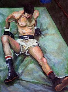Reclining Boxer