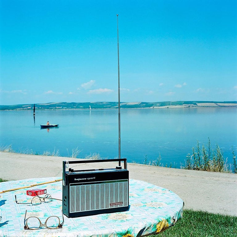 Evžen Sobek Color Photograph - Untitled (Radio)