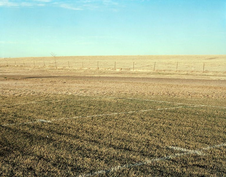 William Wylie Color Photograph - Prairie Field, Looking Northeast