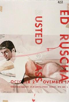 Ed Ruscha (B)usted (Gl)ass (#422)