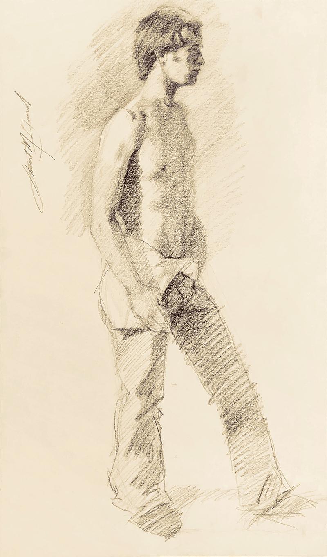 Untitled (Man Undressing)