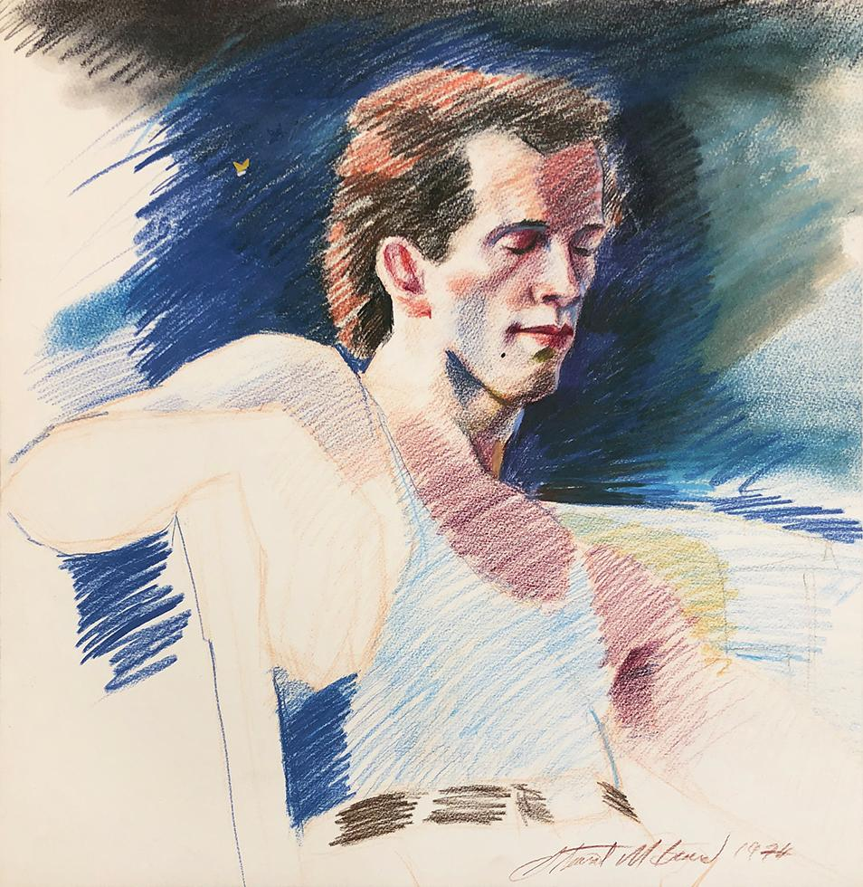 Untitled (Man in Blue Tank Top)