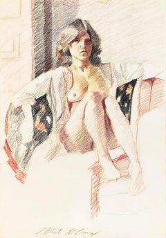 Untitled (Reclining Female Nude)