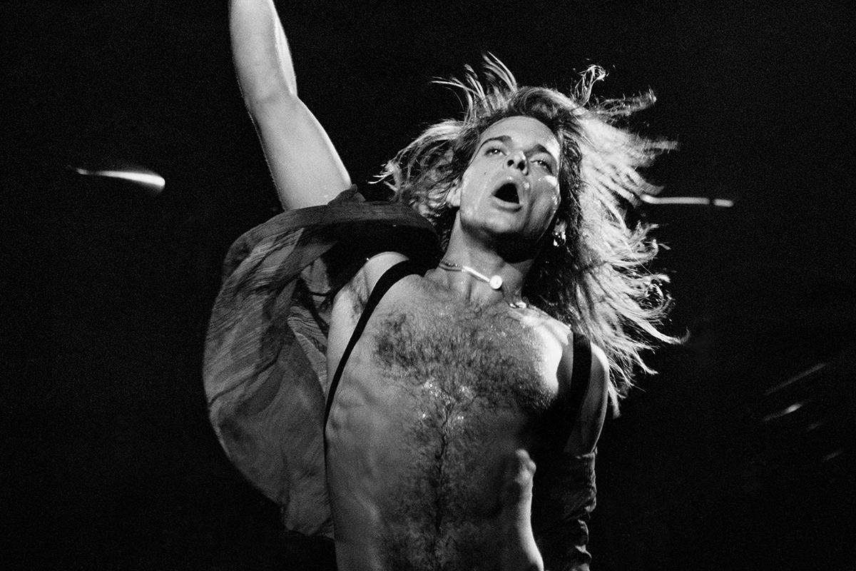 Van Halen (David Lee Roth), San Jose Center for the Performing Arts