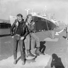 Guys at Christopher Street Pier