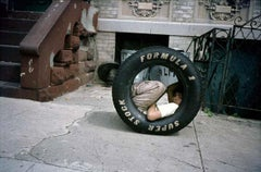 Boy in a Tire