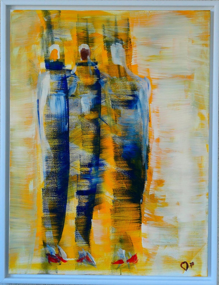 Jacek Pokrak Abstract Painting - The Colours of October