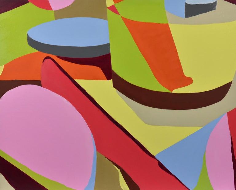 Patti Samper Abstract Painting - Bar