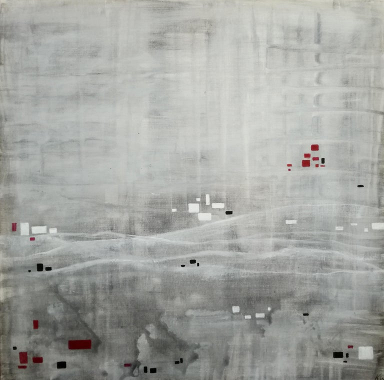 Katrin Waite Abstract Painting - Rural Place