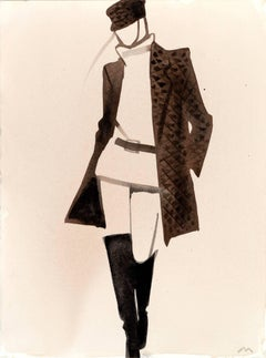 Hermès (brown coat)
