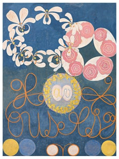 Group IV, no 1 - 21st Century, Abstract, Wool, Rug by Hilma af Klint Foundation