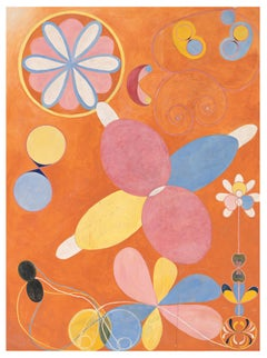 Group IV, no. 4 - 21st Century, Abstract, Wool, Rug by Hilma af Klint Foundation