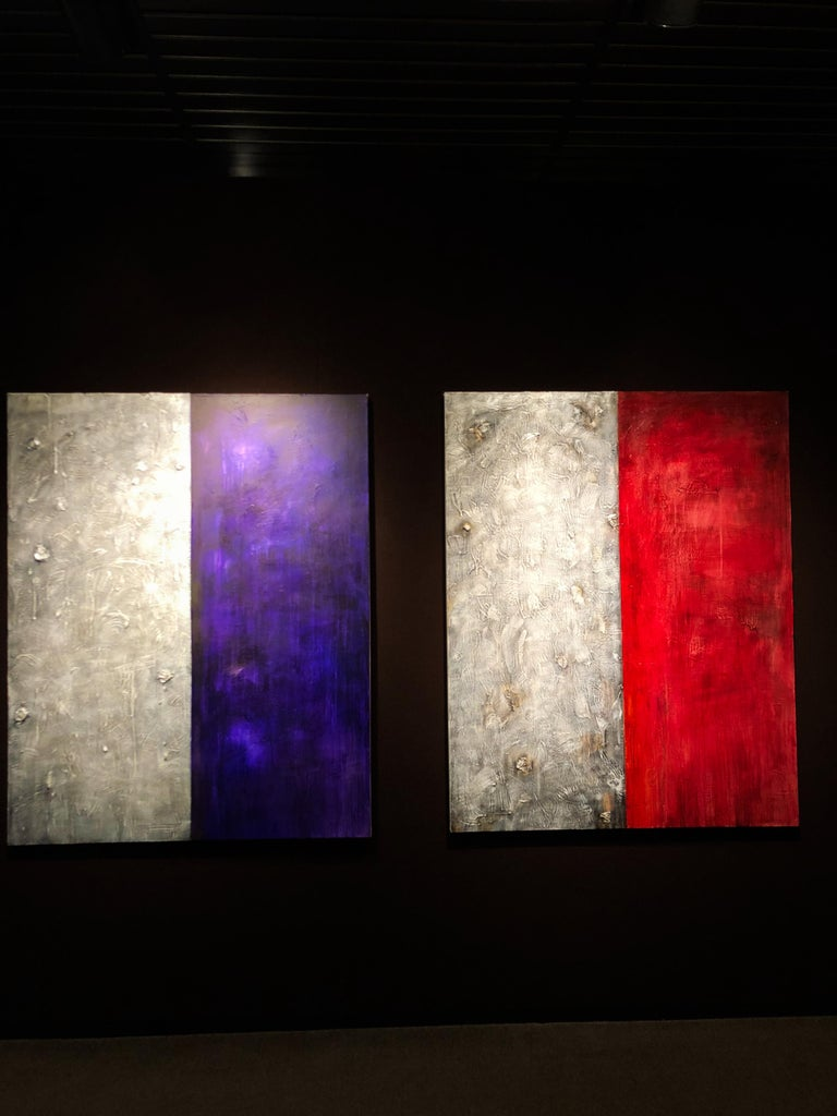 Diversity I - Mixed Media on Canvas - 60 x 48 in. For Sale 3