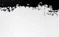 Untitled #5 - Abstract Art by Agathe Toman French Artist Black & White Large Art