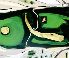 Hyde Park by Thomas J Smith, Contemporary 21st Century British Artist - Maps