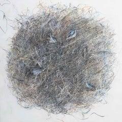 Tangle I: Drawing on melamine by Lyndsey Keeling