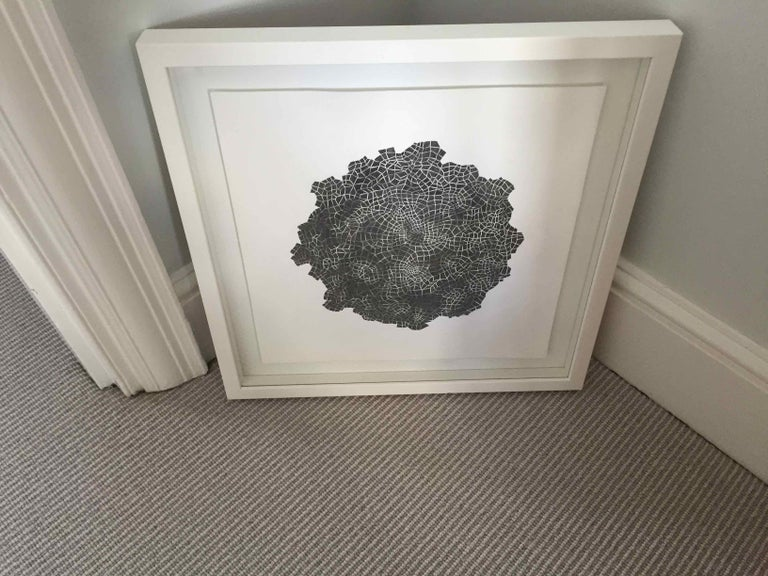 Framed Drawing #172s: by Alan Franklin, British artist and sculptor For Sale 1