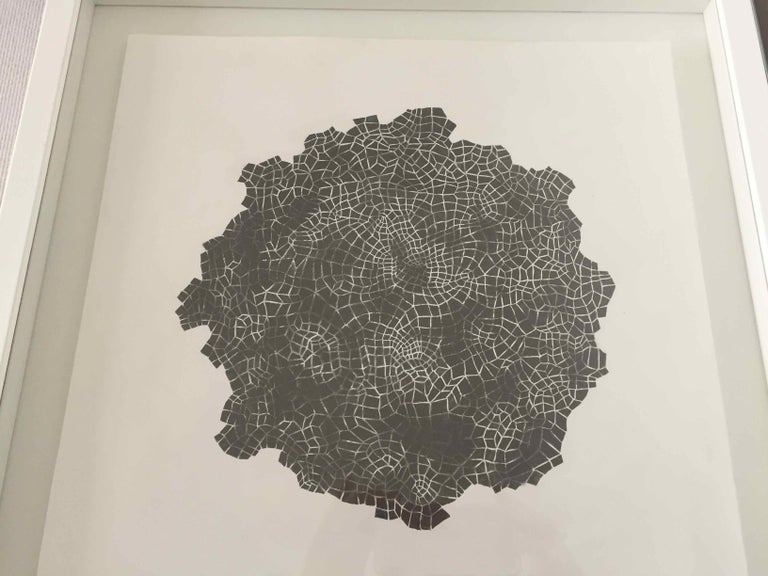 Framed Drawing #172s: by Alan Franklin, British artist and sculptor For Sale 2