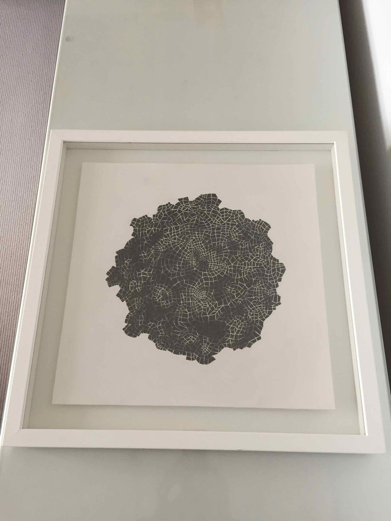 Framed Drawing #172s: by Alan Franklin, British artist and sculptor For Sale 3