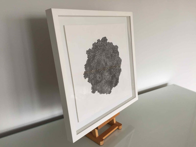 Framed Drawing #172s: by Alan Franklin, British artist and sculptor For Sale 5