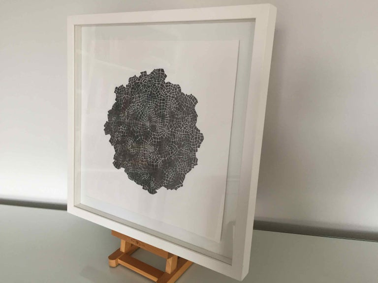 Framed Drawing #172s: by Alan Franklin, British artist and sculptor For Sale 6