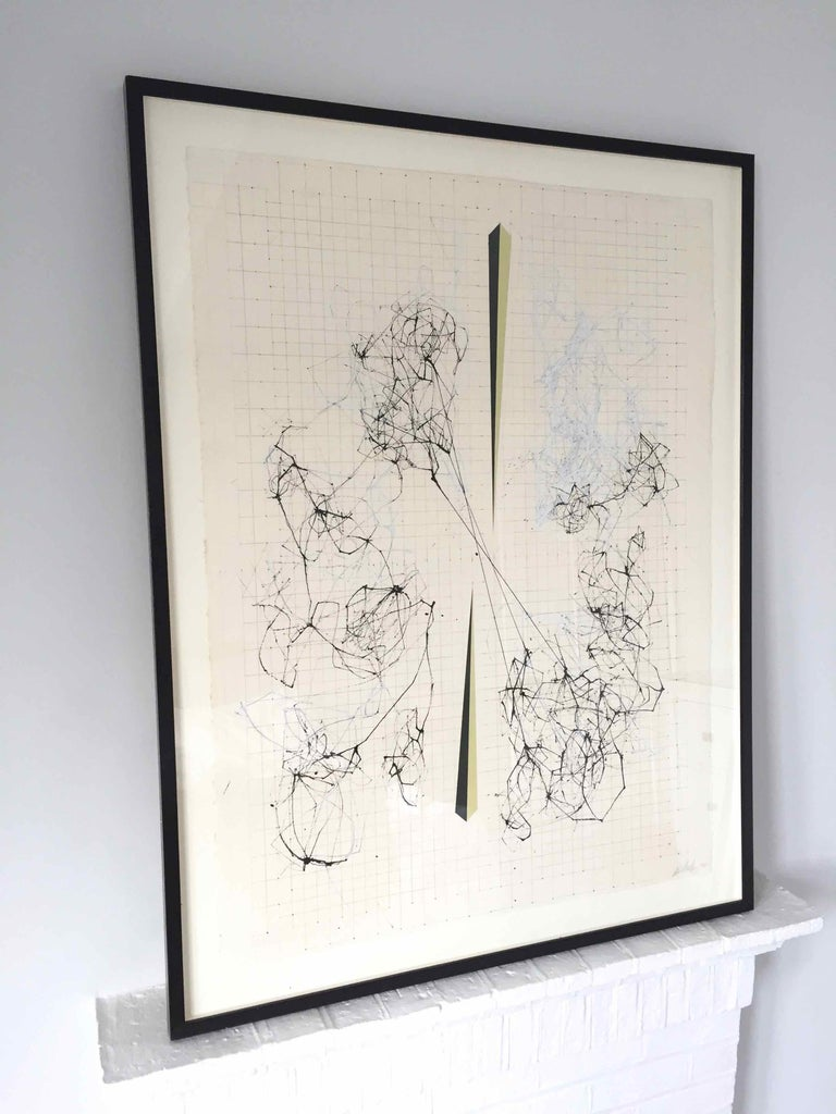 Splice: Drawing of Network Connections by David Watkins For Sale 2