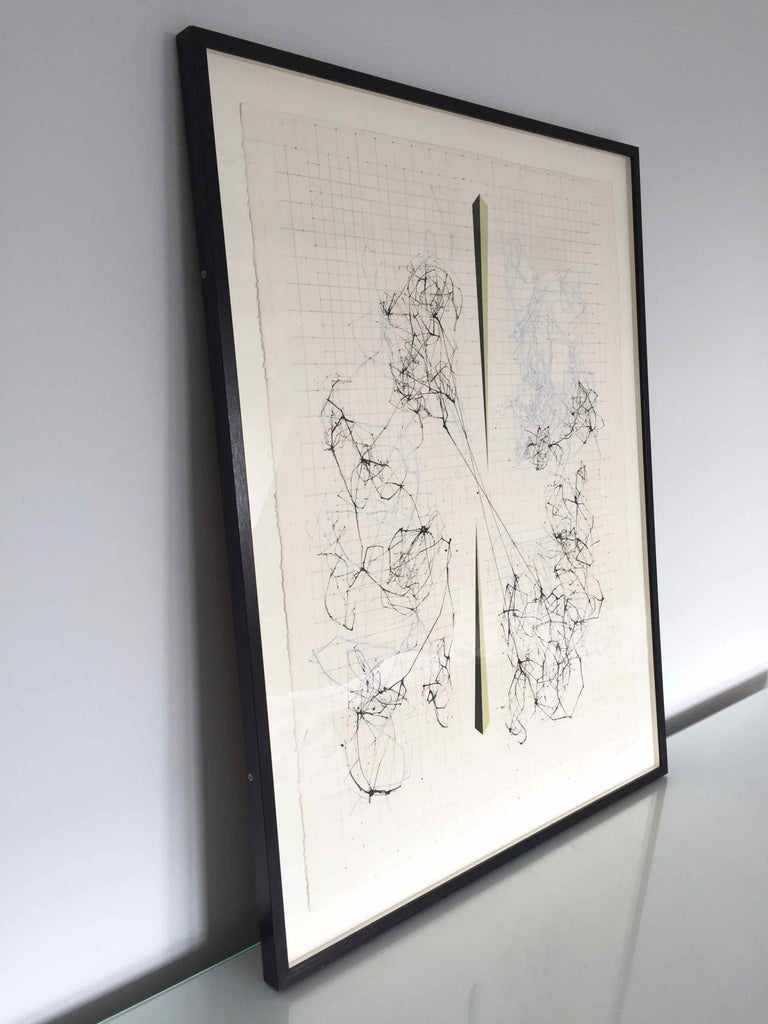 Splice: Drawing of Network Connections by David Watkins For Sale 3