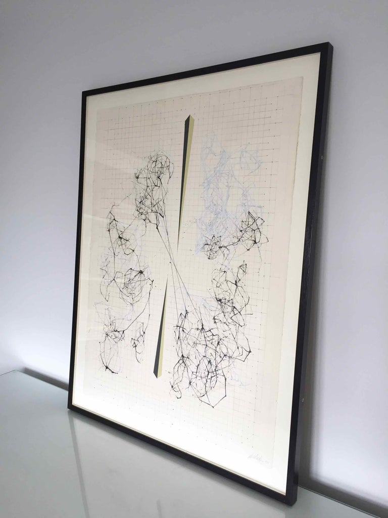 Splice: Drawing of Network Connections by David Watkins For Sale 4