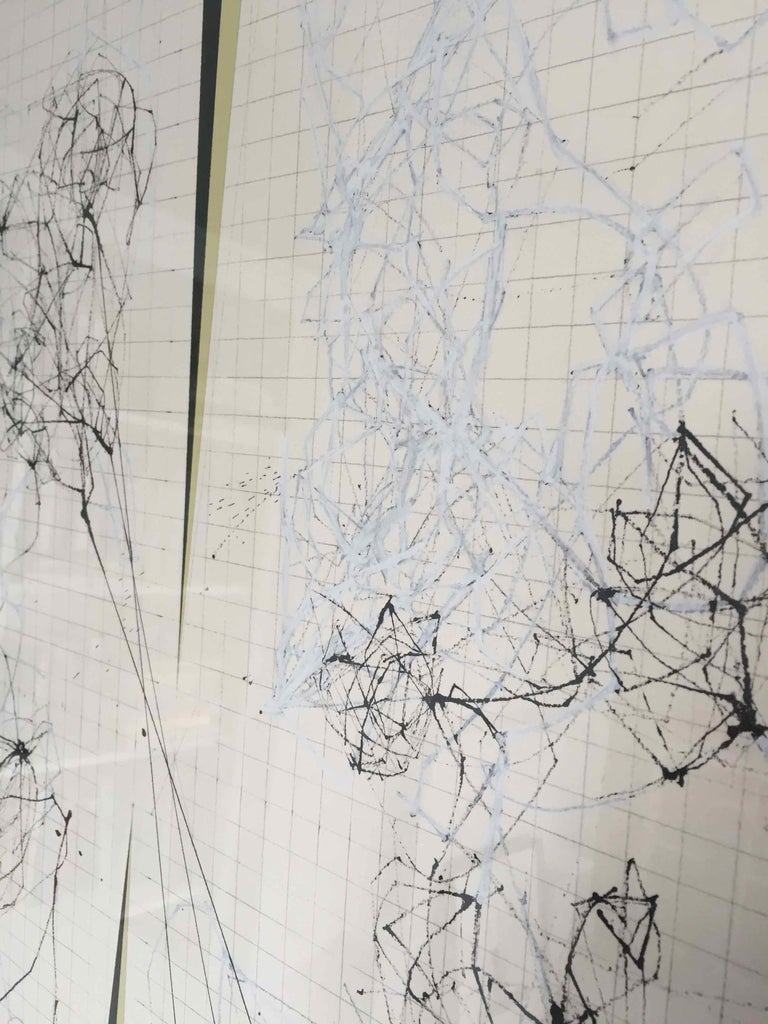 Splice: Drawing of Network Connections by David Watkins For Sale 5