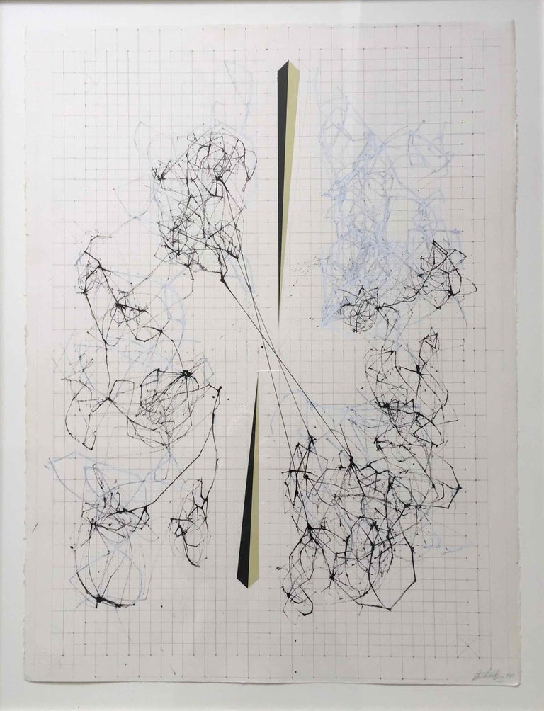 Splice: Drawing of Network Connections by David Watkins For Sale 1