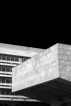 Photograph of Brutalist Architecture, Edinburgh University by Egle Kisieliute