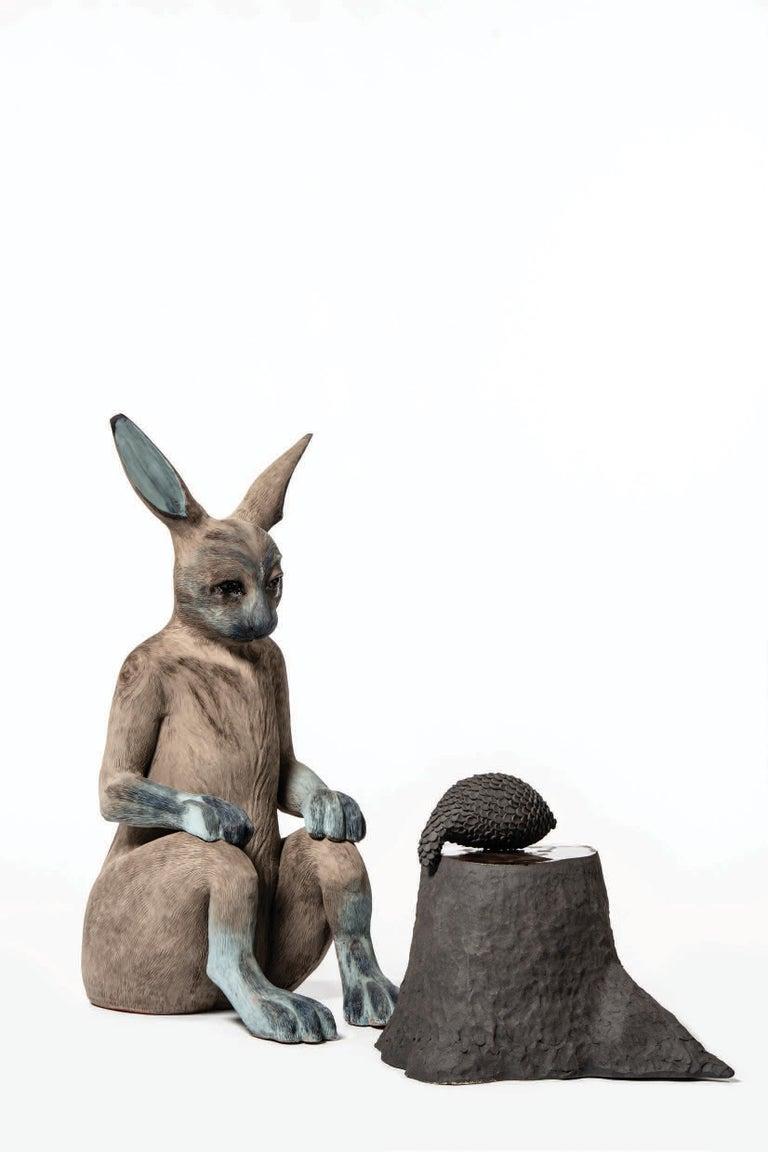 Watching You - Sculpture by Margit Brundin